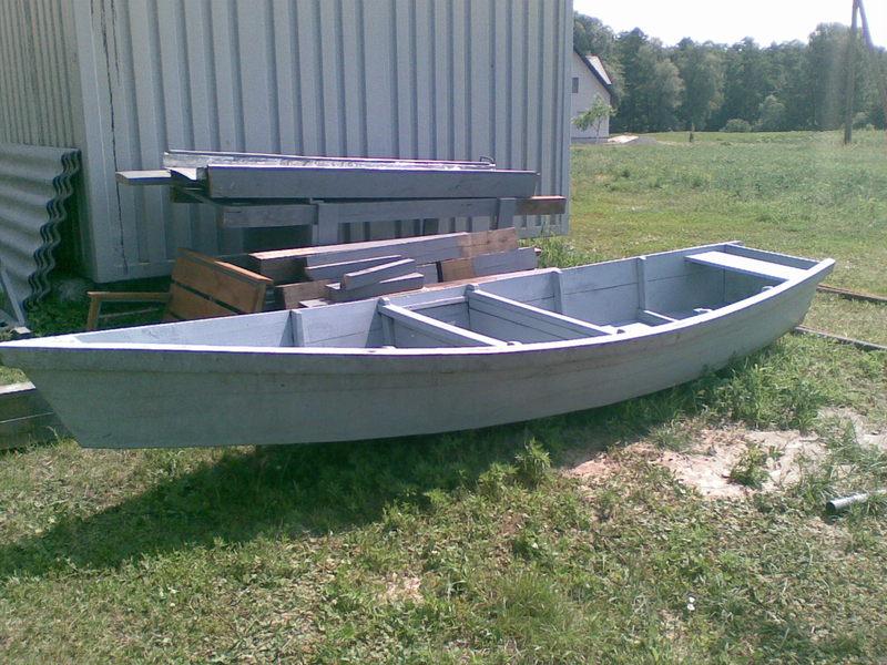 Изготовление лодки плоскодонки своими руками
