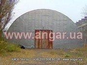 Продаю ангар алюминиевый арочного типа