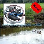 Очистка пруда,  озера,  реки,  искусственного водоема
