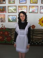 Школьное платье старого образца