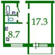 Продам 1-кімнатну квартиру в м.Черкаси за 208 тис. ₴ 067-936-85-95.