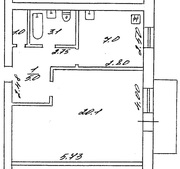 Продам 1 ком. квартиру в Черкассах в кирпичном доме за 199 тыс. ₴