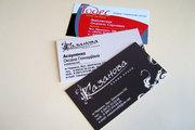 Печать визиток,  изготовление визиток Черкассы Киев