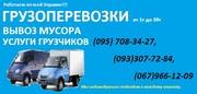 попутные перевозки по Украине от 1т до 30т