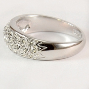 Женские позолоченные кольца
