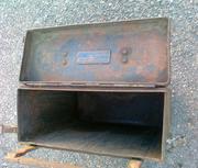 металлический ящик для ЗИП от BMW R75 1943 года