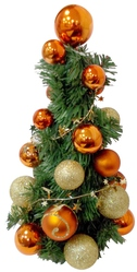Новогодние украшения,  искусственные елки и сосны