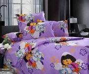 Детское постельное белье в кроватку - Комплект Даша