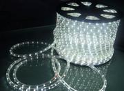 Светодиодный дюралайт LED белый холодный