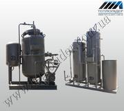 водоподготовительные установки  ВПУ-1, 0,  ВПУ-2, 5,  ВПУ-5, 0