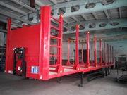 Переоборудование кузовов - лесовозы