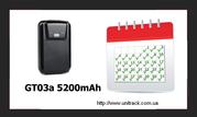 GPS трекер SMART GT03a. Aвтономный,  Влaгостойкий,  нa 5 мaгнитaх,  5200m