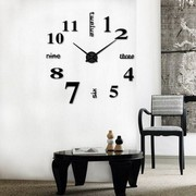 Настенные часы наклейки
