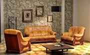 Новая кожаная мебель с Европы (кожаный диван,  кресло или угловой диван