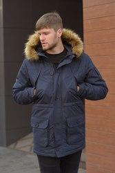 Зимняя теплая мужская куртка парка  аляска Node Alaska parka до -25