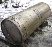 Бак з нержавіючої сталі з патрубком для крану,  об'єм 400 л.