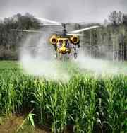 Луговой мотылек - защита посевов от его гусениц вертолетом самолетом Ан-2