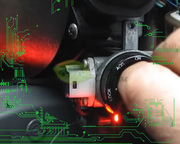 Обходной модуль иммобилайзера автомобиля