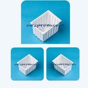 Прямоугольная форма для мягкого сыра 0, 35 кг Адыгейский сыр с молока