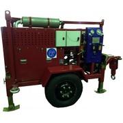 Бензиновая лебедка для прокладки кабеля серии ЛСИ.Т.Б с бензиновым дви