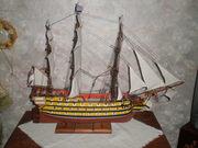 Английское 74-пушечное военное парусное судно Виктори